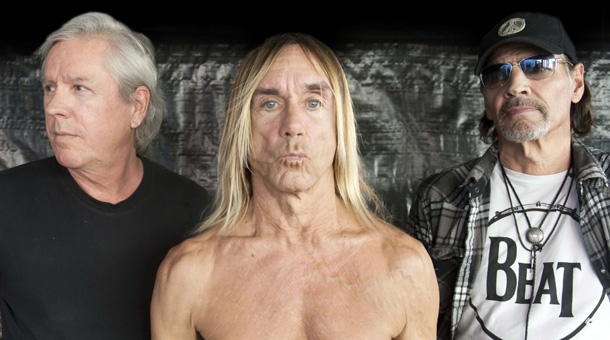 Asheton, right, with the Stooges | Picture Sophie Howarth