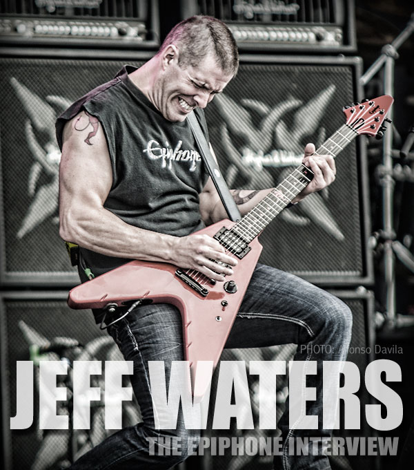 Jeff Waters Epiphone