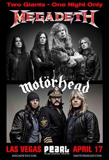 Megadeth, Motorhead