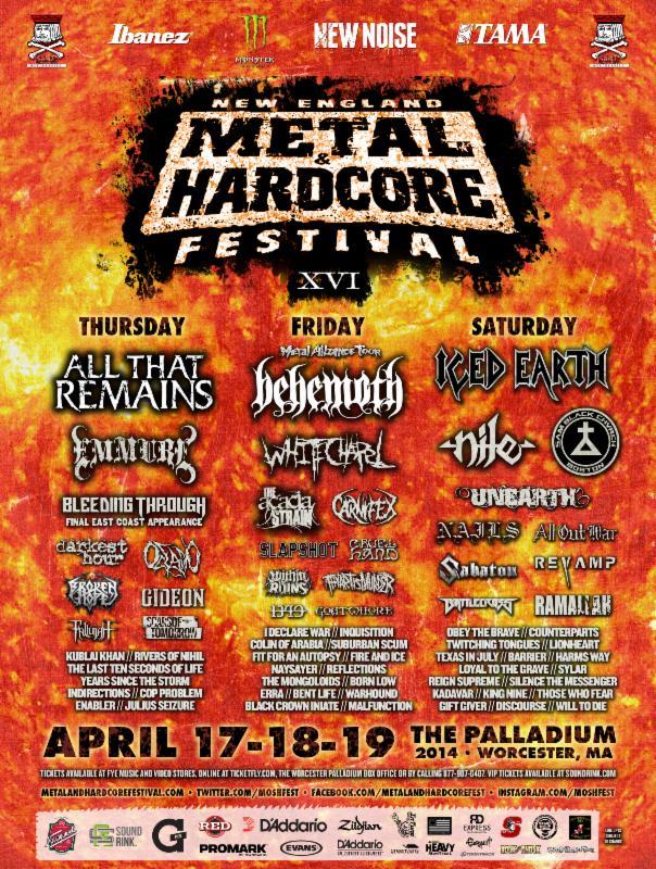Metal hardcore fest