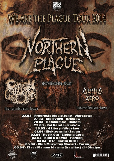 NORTHERN PLAGUE tour 2014