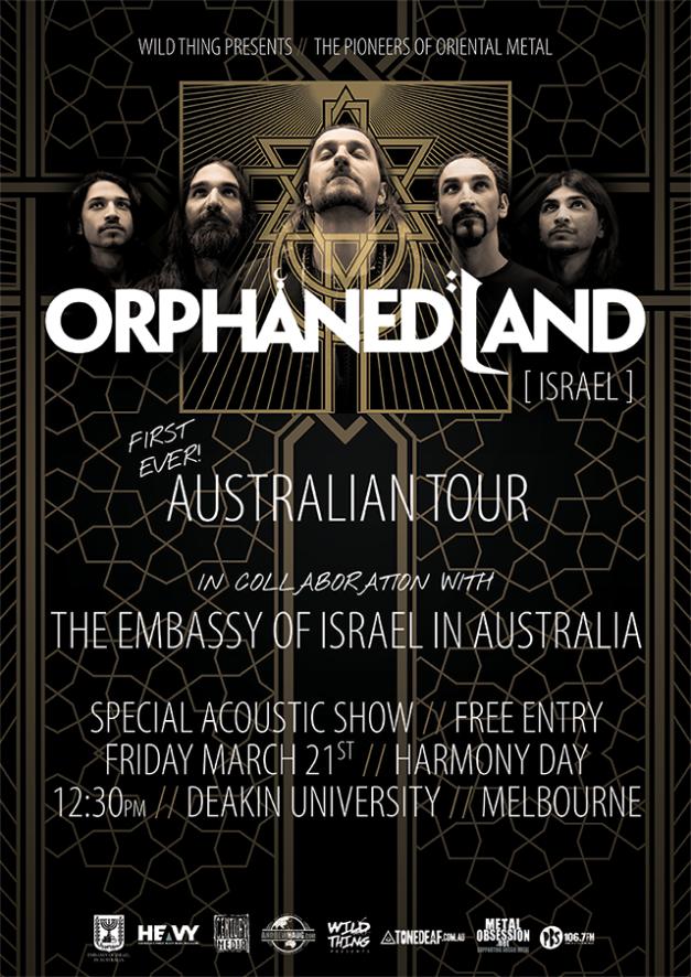 OrphanedLandAustraliaAcousticShow-flyer