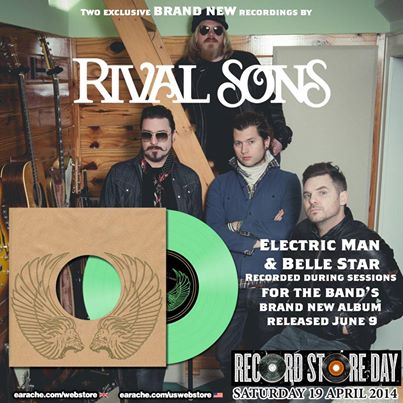 Rival Sons record store day
