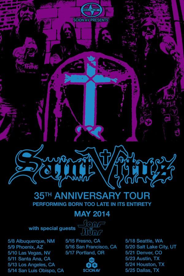 SaintVitus-35thAnniversaryTour