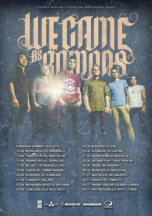 WE-CAME-AS-ROMANS-European-summer-tour-2014