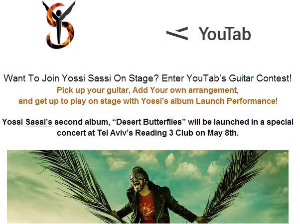 YossiSassi-YouTab-Guitar-Contest