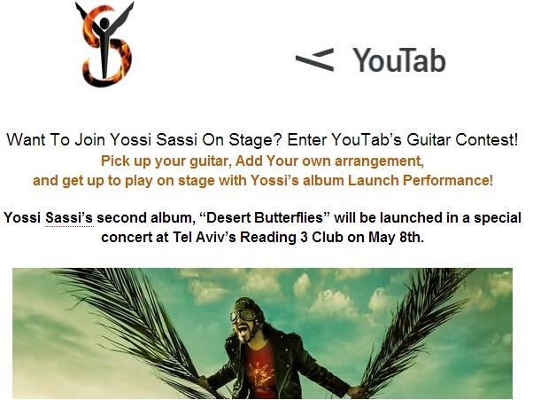 YossiSassi-YouTab-Guitar-Contest
