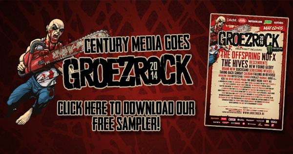 Century Media Records goes Groezrock 2014