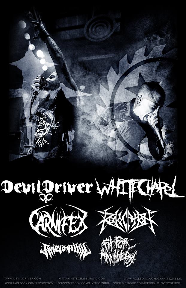 DevilDriver-Whitechapel-tour