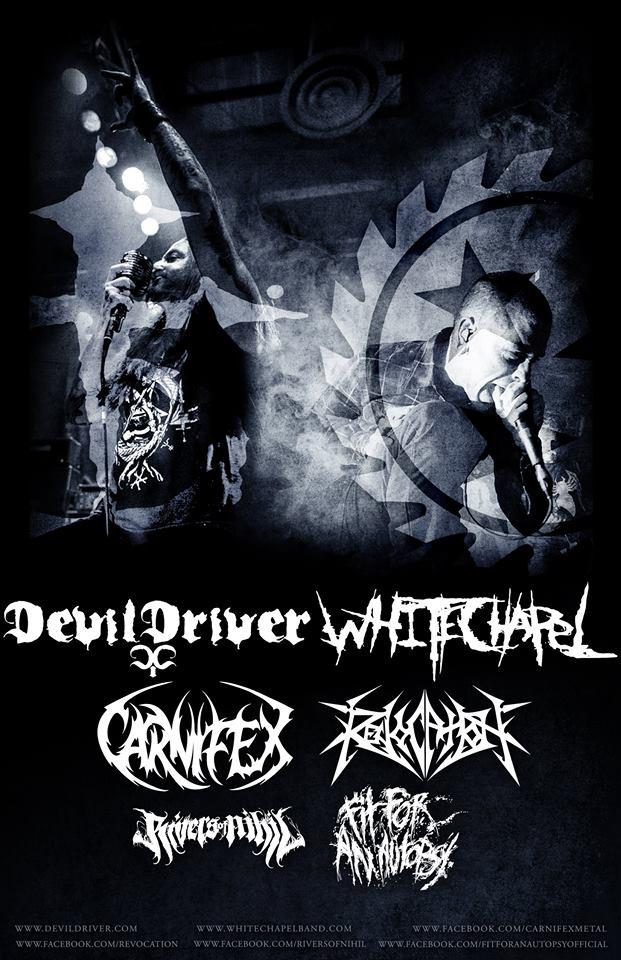 DevilDriver-Whitechapel-tour
