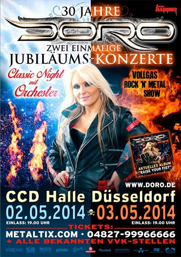 DORO 30th aniversary