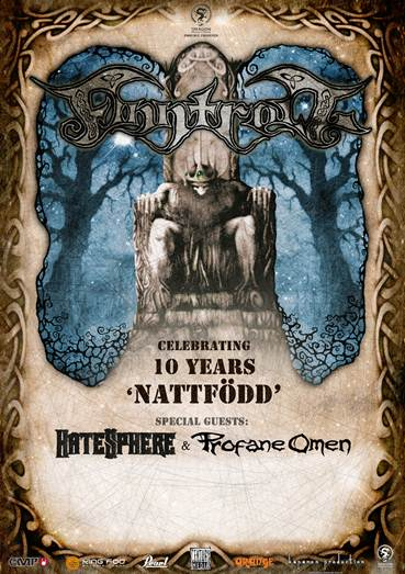 FINNTROLL eurpean tour 2014
