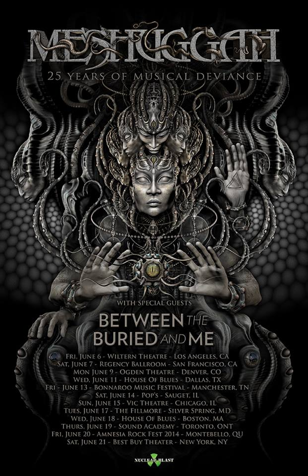 Meshuggah25Anniv-NorthAmericanTour