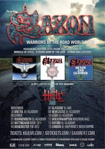 Saxon 35th ann tour