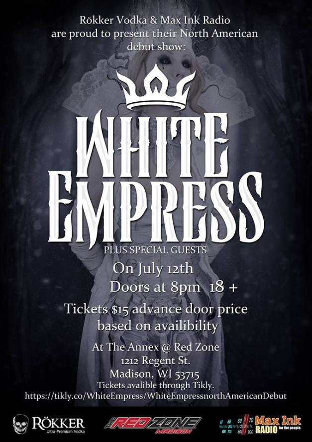 WhiteEmpree-DebutShowPoster