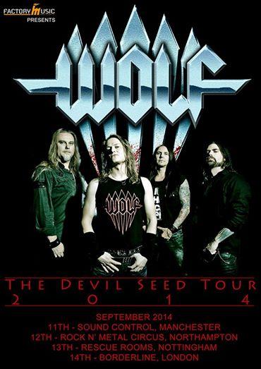 Wolf tour 2014