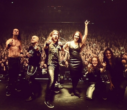 Epica's Release show - posted via Epica's Instagram