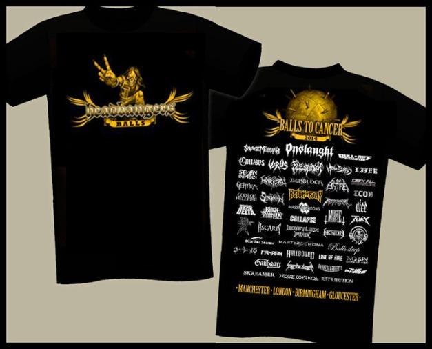 Headbangers Balls Tshirts