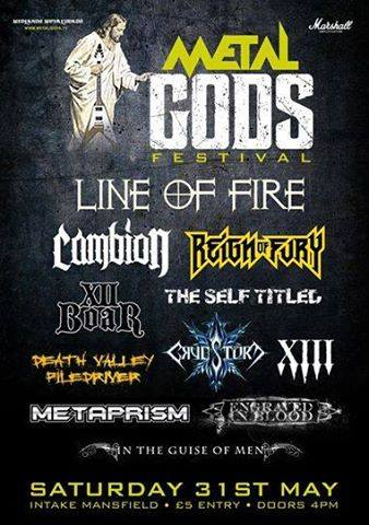 Metal Gods Fest 2014
