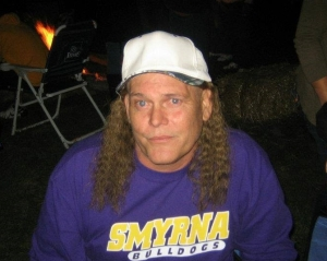 Richard With Mullet Hat 2011