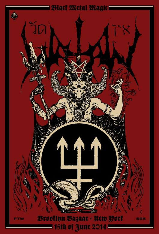 Watain-Brooklyn-Show