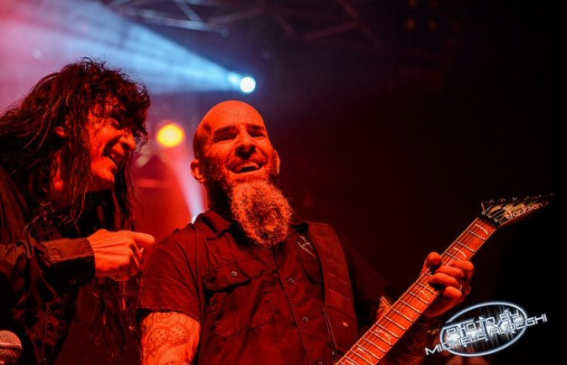 Anthrax at Live Club, on June 15, in Milan - Photo by Michele Aldeghi