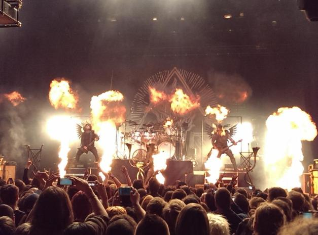 BEHEMOTH Golden Gods 2014