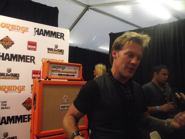 Chris Jericho Golden Gods 2014