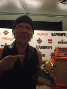 Michael Schenker 'Icon' Golden God 2014