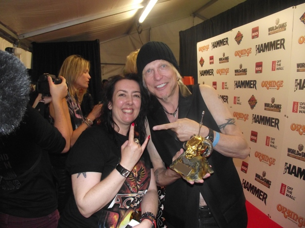 Michael Schenker With Blackdiamond Metal Hammer Golden Gods 2014
