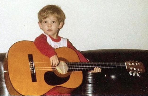 "Kevin got the fever at an early age: ""I don't remember a time when I wasn't enthralled with the guitar."""