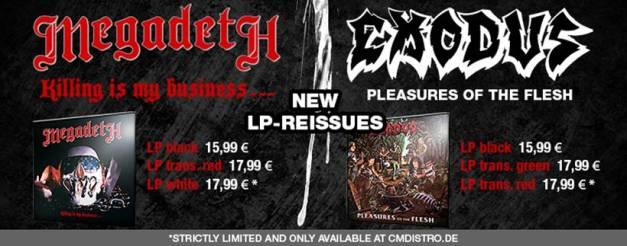 Megadeth, Exodus reissue