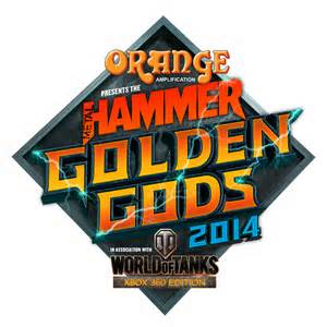Metal Hammer Golden Gods logo