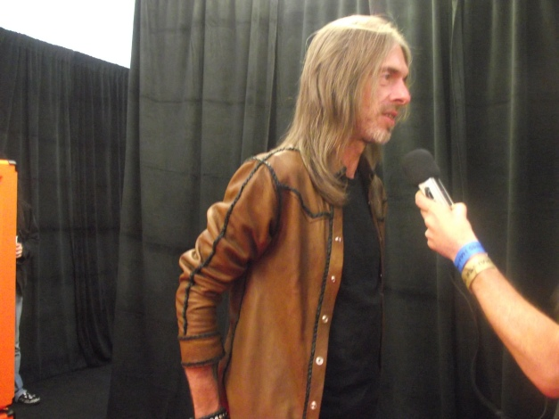 Rex Brown Golden Gods 2014
