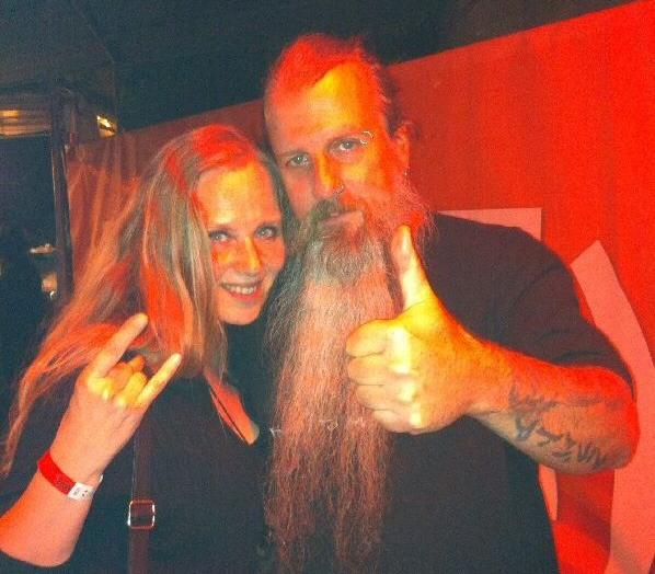 Tarja and Paul at Metalitalia.com Festival 2014