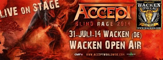 Accept Wacken 2014