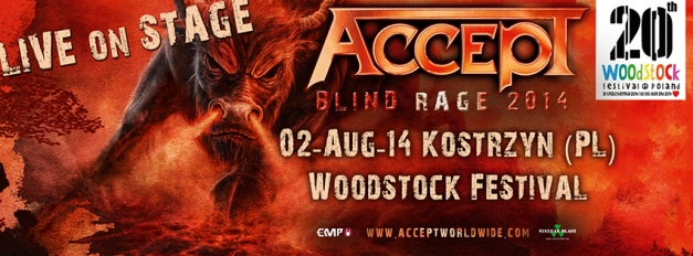 Accept Woodstock 2014