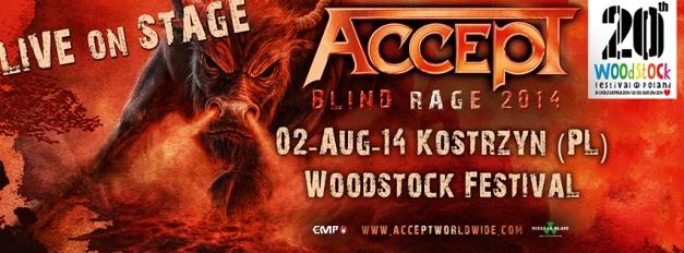 Accept Woodstock 2014