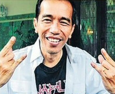 Heavy metal fan joko jokowi widodo wins indonesias presidential indonesia heavy president3 reheart