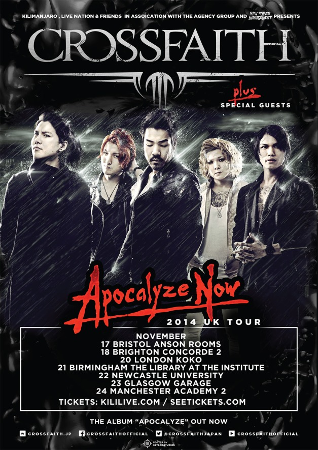 Crossfaith Tour 2014
