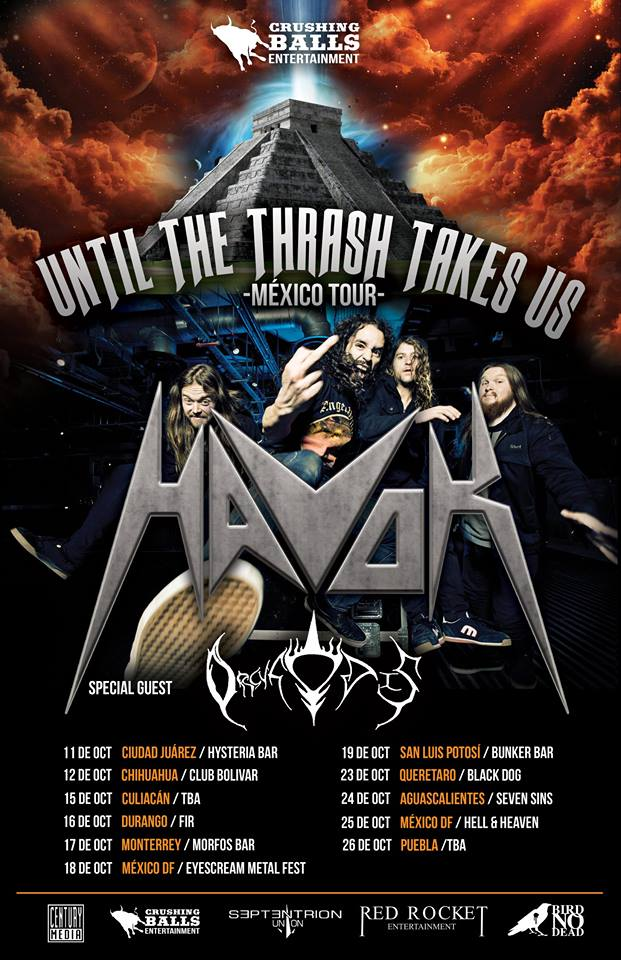 Havok-tour-flyer