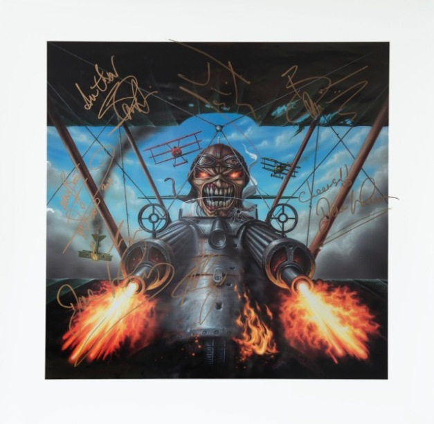 Iron Maiden artwork
