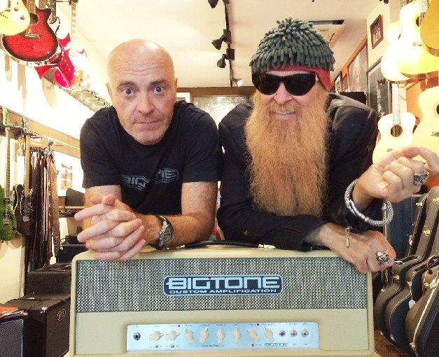 Octavio Valero and Billy Gibbons from ZZ Top