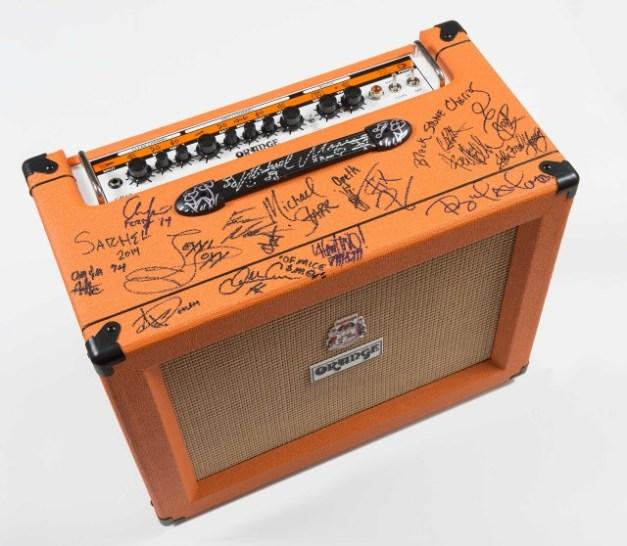 Orange amp