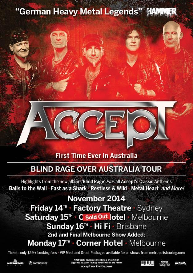 Accept Melbourne