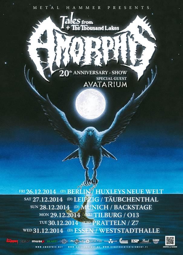 AMORPHIS tour 2014
