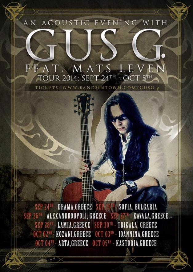 Gus G Acoustic Tour 2014