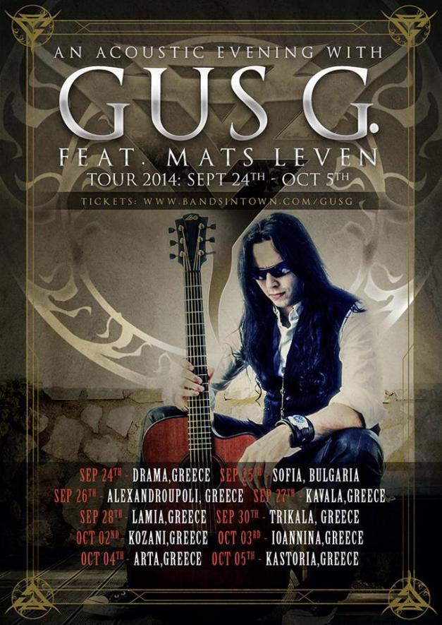 Gus G Acoustic Tour 2014