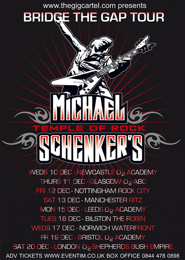 Michael Schenker tour 2014