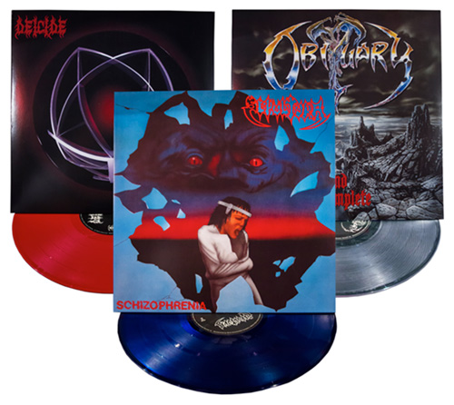 SepulturaDeicideObituary-vinyls